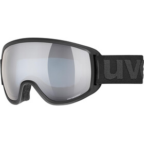 UVEX Topic FM sphere Goggles black mat/mirror silver